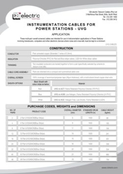 UVG cables pg1