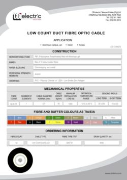 catalogue LCD cables pg1