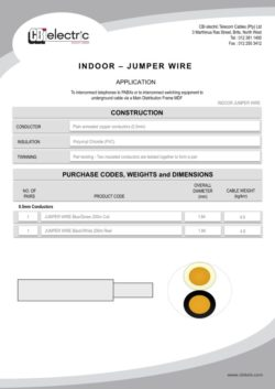 Indoor Jumper Wire pg1