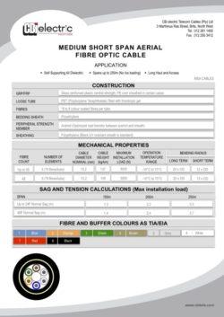 catalogue MSA cables pg1