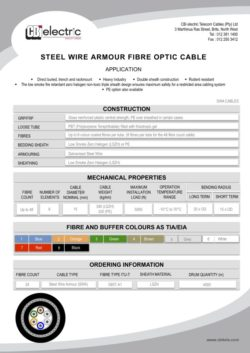 catalogue SWA cables pg1