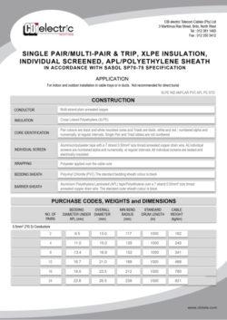 XLPE-IND-AMYLAR-PVC-APL-PE-STD
